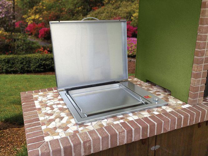 Planet oasis sistema di cottura da incasso attrezzatura per cucina professionali - Piano cottura da esterno ...