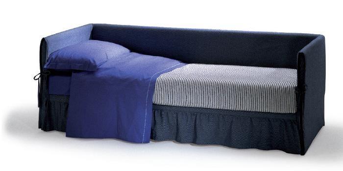futura fiordaliso, divano, letto singolo con 2° letto estraibile ... - Divano Letto Matrimoniale Futura