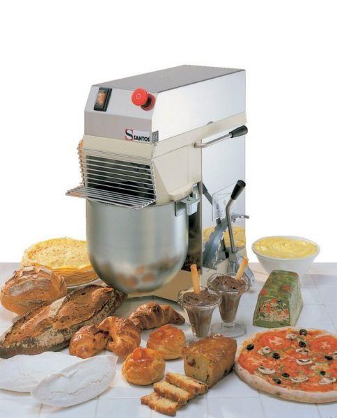 Santos impastatrice a forcella santos 5 kg da impasto - Attrezzatura cucina professionale ...