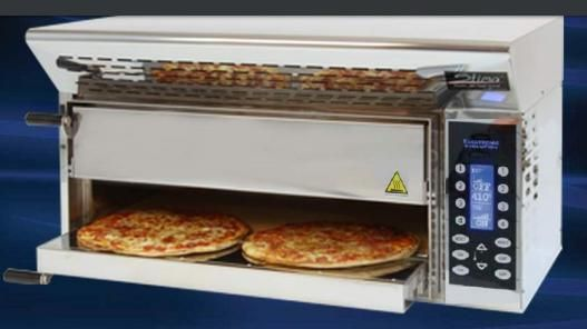 Stima forno pizza vp2 evolution xl cottura di 4 pizze in for Tempo cottura pizza forno ventilato