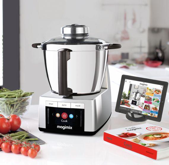 Magimix magimix cook expert robot da cucina multifunzione completo e versatile attrezzatura per - Robot per cucinare e cuocere ...