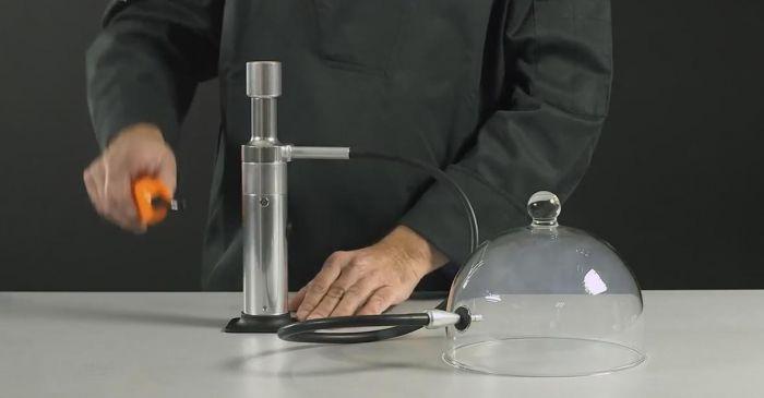 Decorfood aladin super affumicatore portatile for Affumicatore portatile
