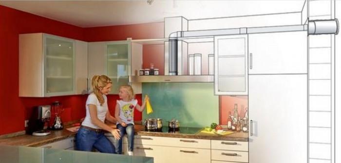 Faber canali piatti per cappa cucine for Cappa cucina senza tubo