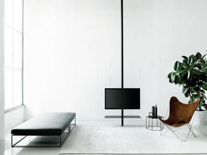 Desalto sail 307 supporto per monitor tv in metallo da - Portapentole da soffitto ...