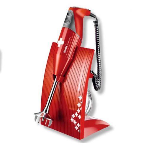Bamix bamix swissline rosso bx sl rd mixer ad immersione - Mixer da cucina ad immersione ...