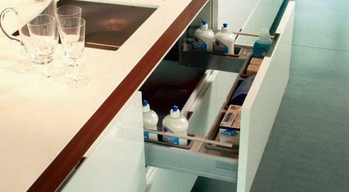 Tecnoinox sottovasca per organizzare lo spazio sotto il - Organizzare cassetti bagno ...