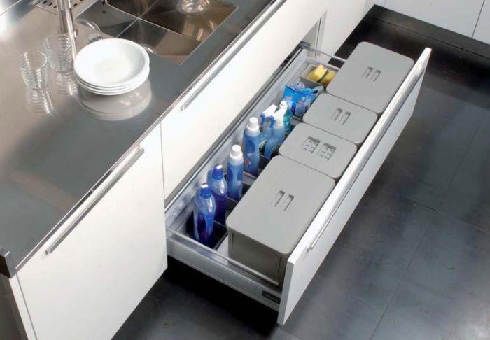 Tecnoinox Kit da cassetto con vaschetta per umido e differenziata ...