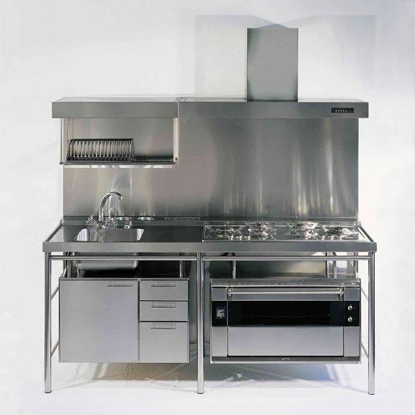 Capra florio blocco inox cucine - Blocco cucina acciaio ...