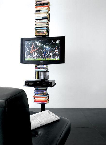 Extendo extendo alluminium mono piantana soggiorni - Porta tv a soffitto ...