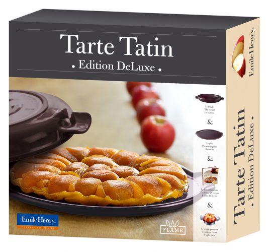 Emile Henry Set Tarte Tatin cm.30 color melanzana (attrezzatura per ...
