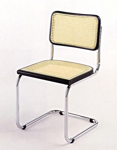 Funzionalismo sedia di marcel breuer complementi for Sedia design paglia di vienna