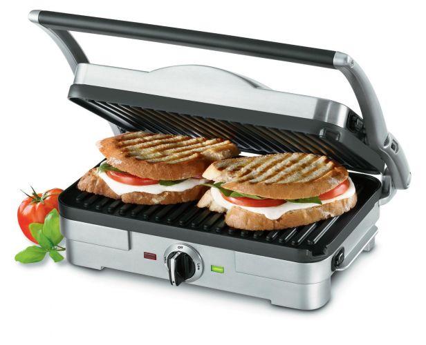 Cuisinart mini piastra multifunzione attrezzatura per - Piastra per cucinare ...