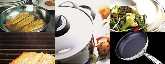 Demeyere i migliori strumenti per la cucina le migliori for Utensili per cucina professionale