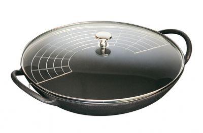 Staub Wok Staub in ghisa cm.37 (attrezzatura per cucina)