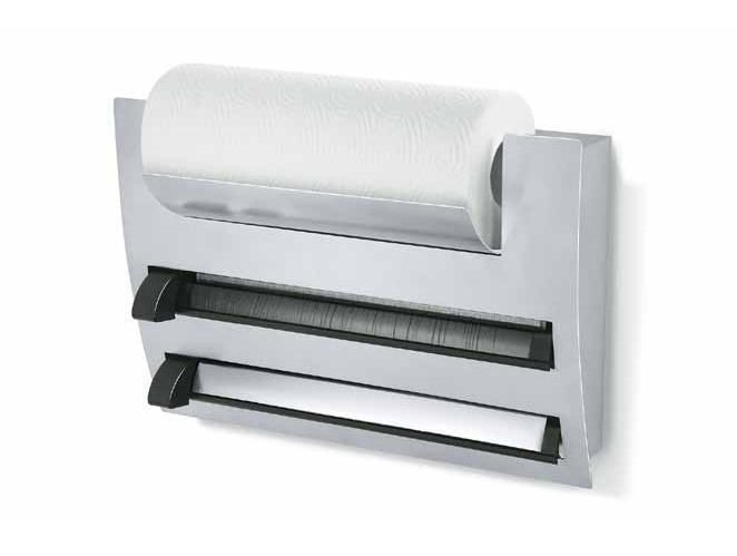 Porta rotolo pellicola trasparente pannelli decorativi plexiglass - Portarotolo cucina verticale ...