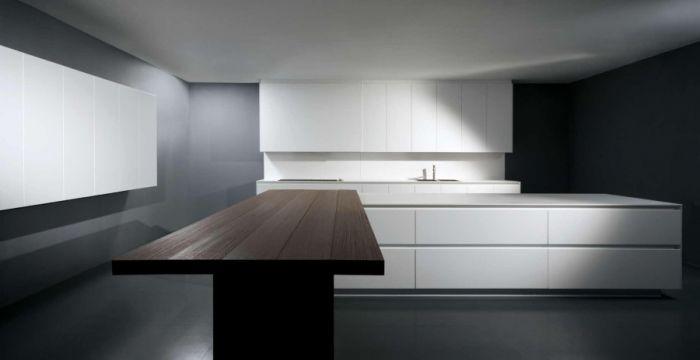 Binova cucina modello pura anta laminato laccato legno - Anta cucina laminato ...