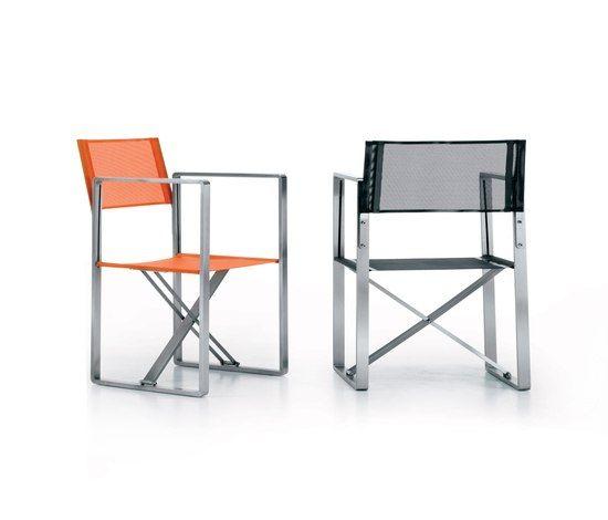 Metalco sedia pieghevole arredi per esterni for Sedia design regista