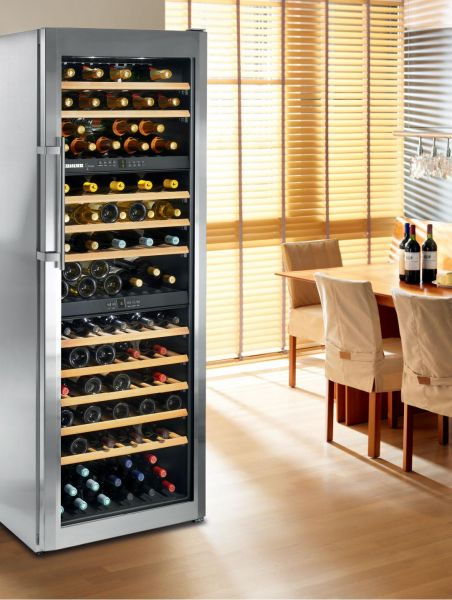 liebherr cantine temperate vinidor attrezzatura per. Black Bedroom Furniture Sets. Home Design Ideas