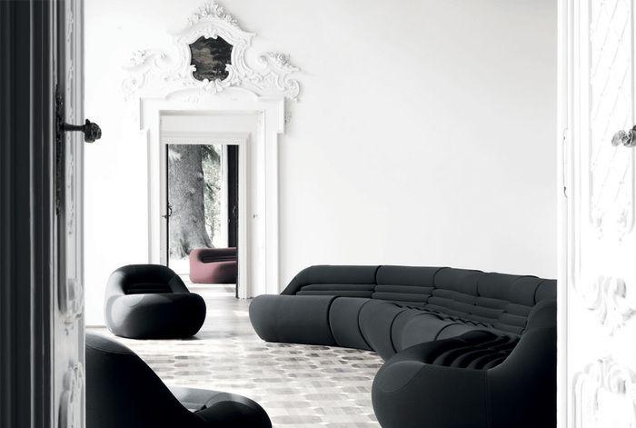 Bbbitalia carrera collezione poltrone e divani soggiorni for Collezione divani e divani