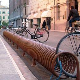 Metalco portabiciclette reset arredi per esterni for Metalco arredo urbano