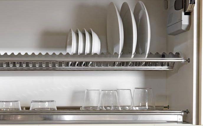 Tecnoinox inoxmatic scolapiatti per pensile cucine for Accessori pensili cucina