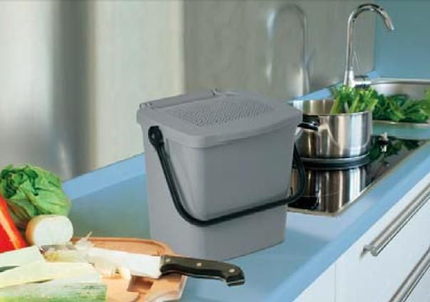 Mattiussi Minimax+ per cucina pratico contenitore per organico ...
