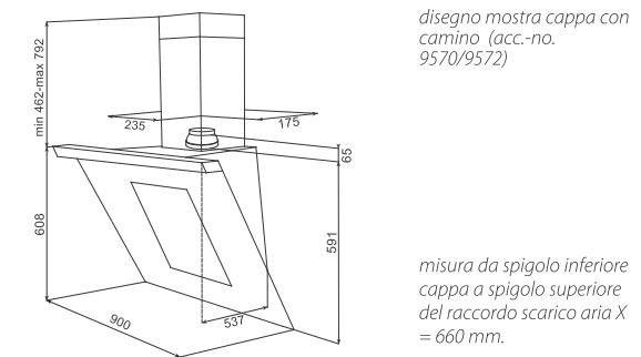 Stunning Dimensioni Cappa Cucina Images - Embercreative.us ...