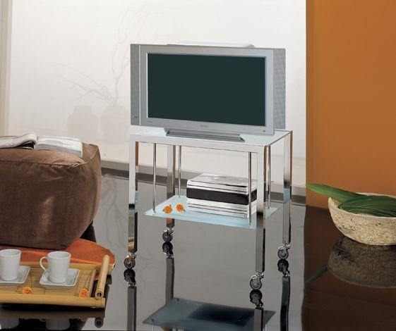 Carrelli Porta Tv Led.Ponti Terenghi Carrello Porta Tv A41 Fuorimilano Complementi