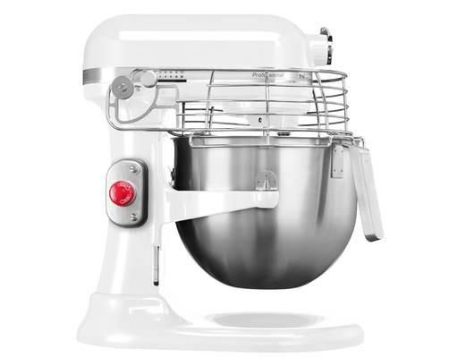 iksm7990 wh robot da cucinaimpastatrice planetaria kitchenaid ciotola da 69 litri colore bianco