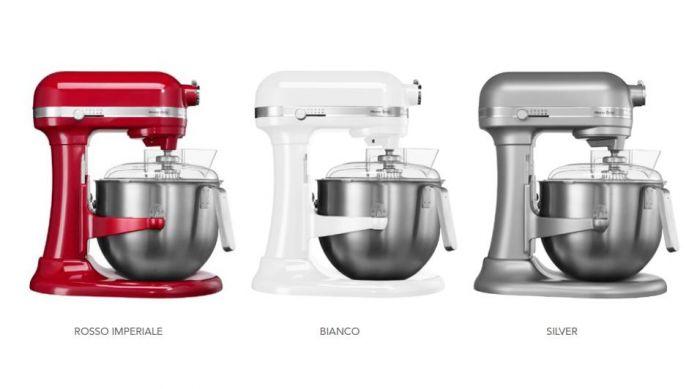 KitchenAid Robot da cucina/impastatrice Planetaria Professionale 6 ...